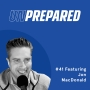 Artwork for 041 - Unprepared: How to Convert Visitors Into Customers Using Data with Jon MacDonald