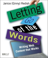 DC49 Interview: Ginny Redish on Letting Go of the Words: Writing Web Content that Works