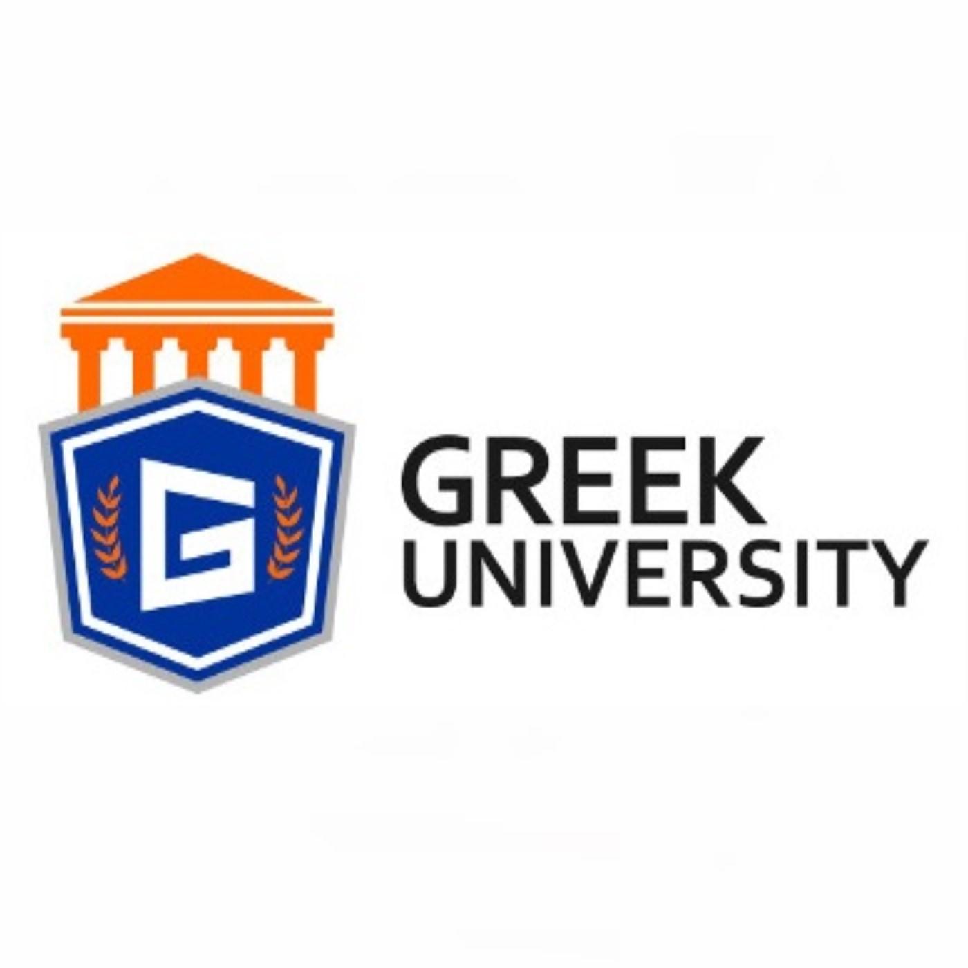 Fraternity Foodie Podcast by Greek University show art