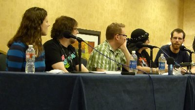 Tim's Take On: Episode 161(Podcasters panel at Gallifrey One 2013)