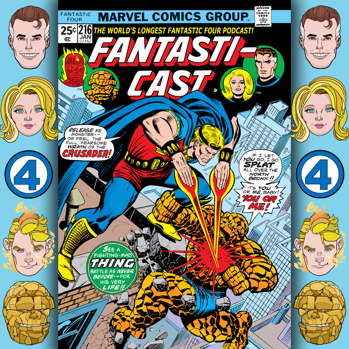 Episode 216: Fantastic Four #165 - The Light of Other Worlds