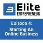 Artwork for Episode 4: Starting An Online Business