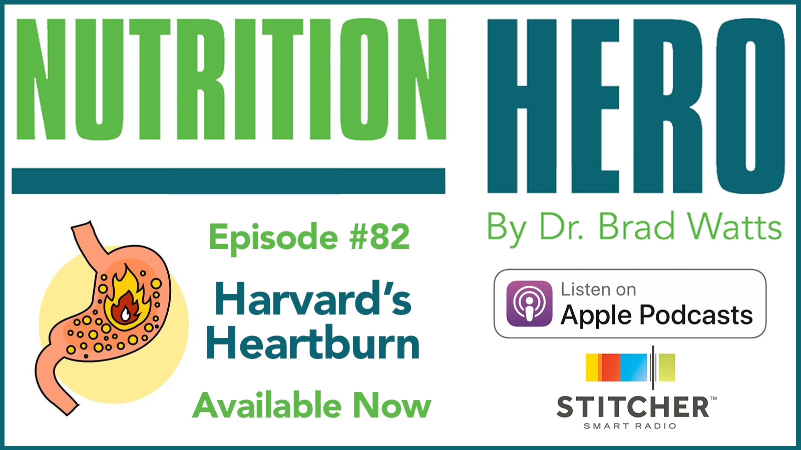 Episode #82 - Harvard's Heartburn show art