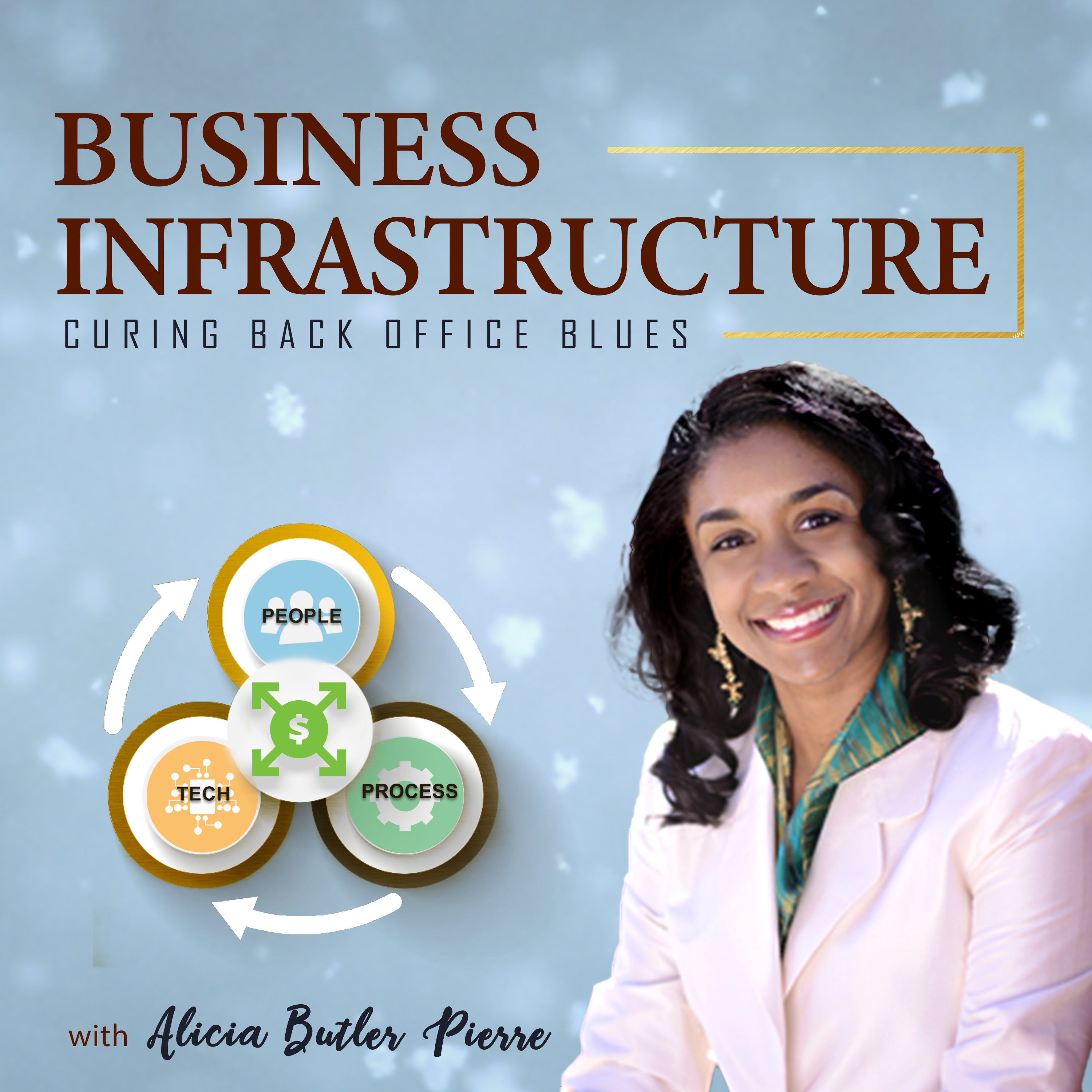 Business Infrastructure - Curing Back Office Blues show art