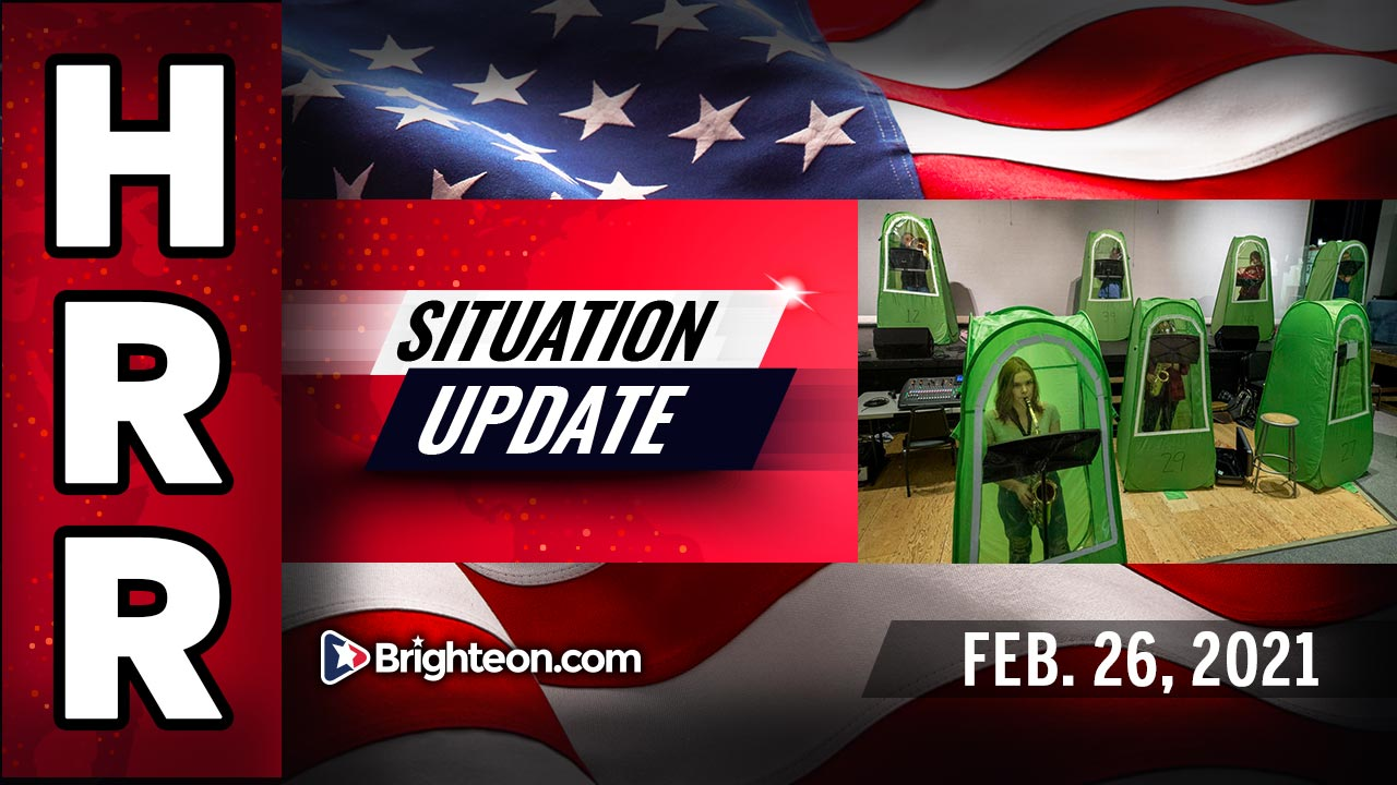 Situation Update, Feb. 26th, 2021 - MAD WORLD special edition