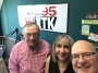 Artwork for Saturday, July 7, 2018 Mike Burton Co-hosts!  William Blaisdell-BOD & Treasurer & Regina Giambusso-Executive Director-Cape & Islands Veterans Outreach Center
