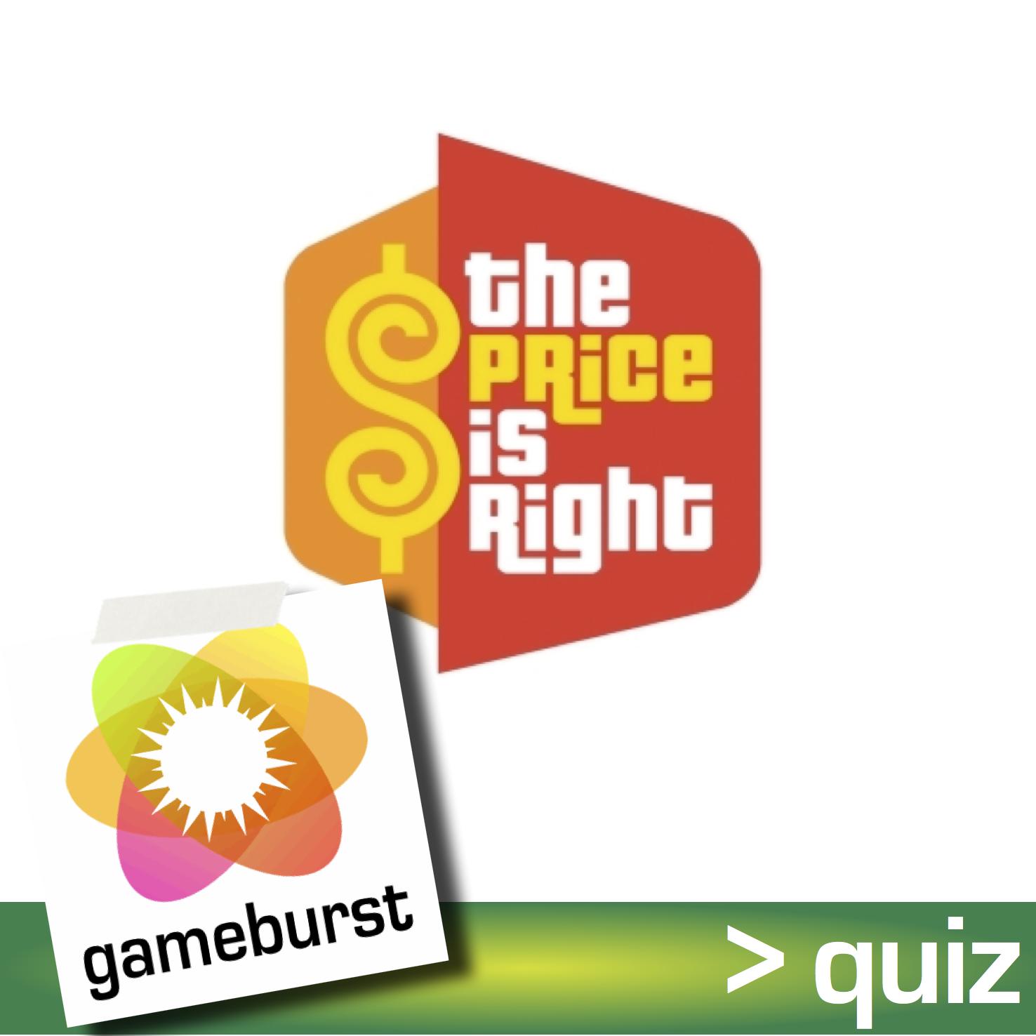 GameBurst Quiz - August 2012
