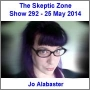 Artwork for The Skeptic Zone #292 - 25.May.2014
