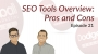 Artwork for Dodgeball Marketing Podcast #21: SEO Tools Overview: Pros and Cons