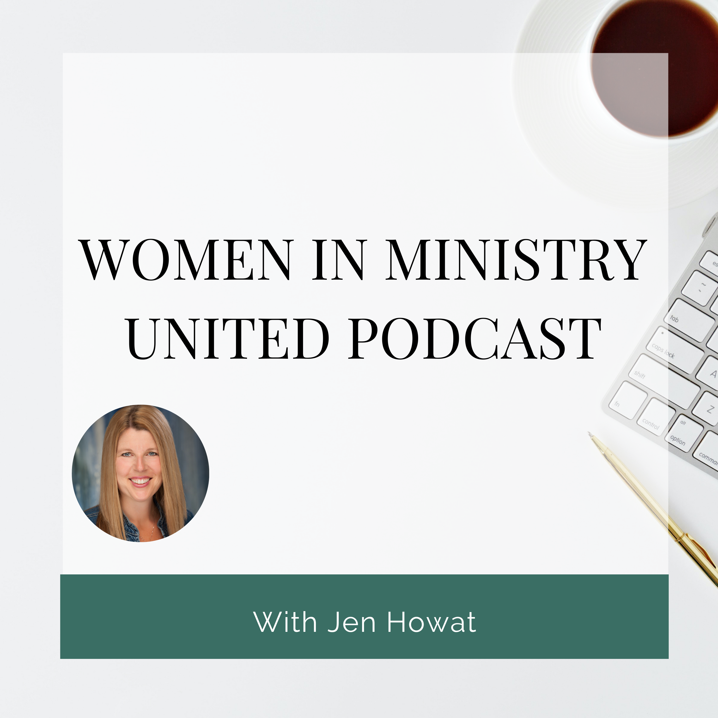 Women in Ministry United Podcast show art