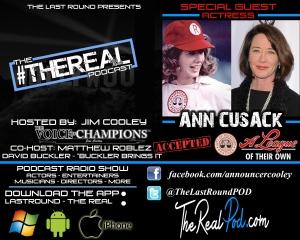 TRR #20 - Ann Cusack - A League Of Their Own