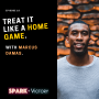 Artwork for 18: Treat it like a home game, with Marcus Damas