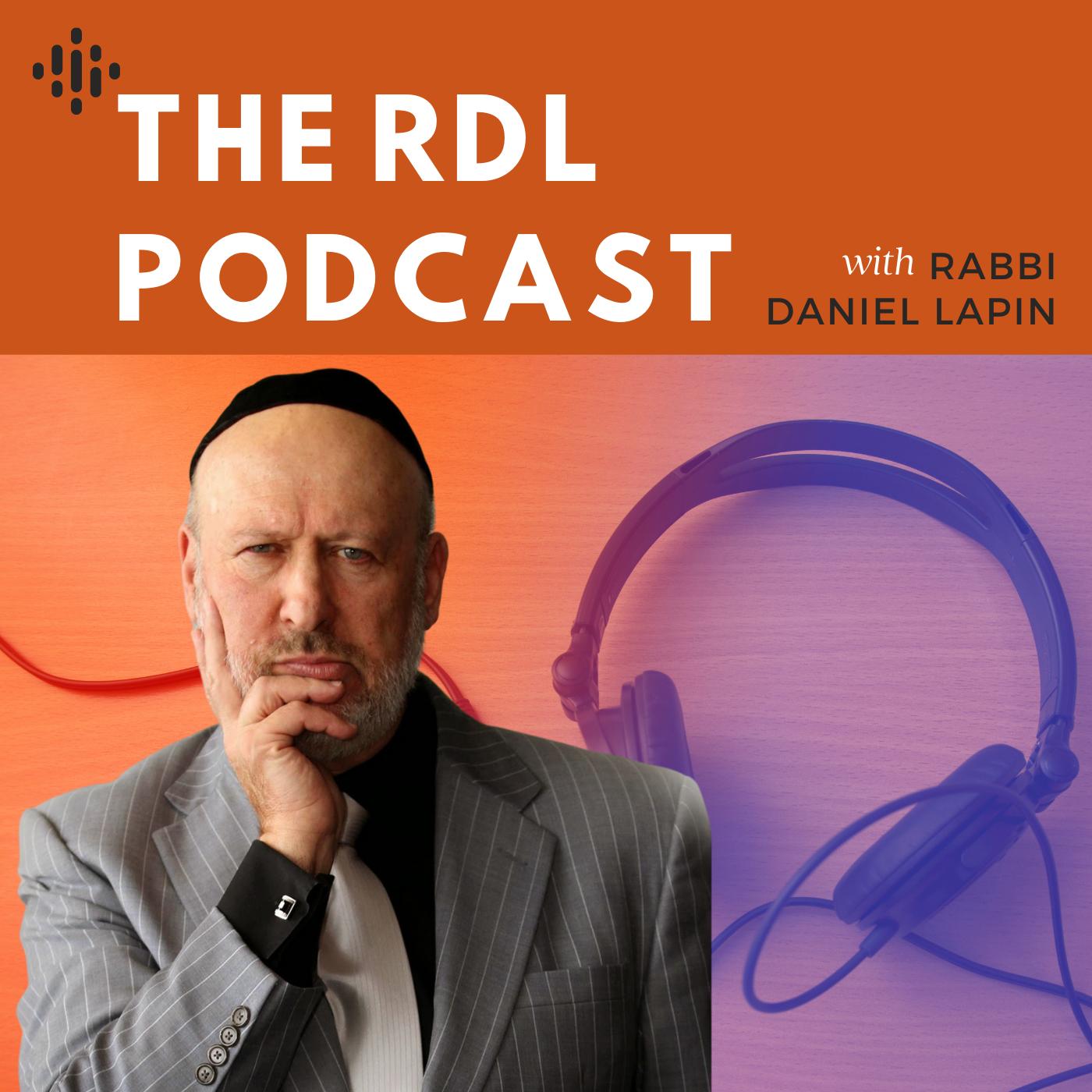 Rabbi Daniel Lapin's podcast show art