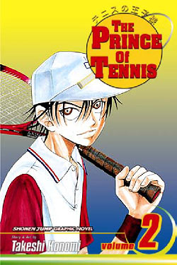 Manga Review: The Prince of Tennis Volume 2