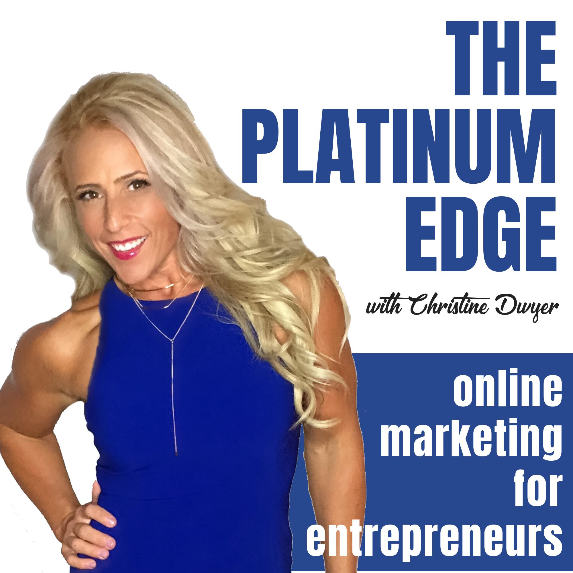 The Platinum Edge Podcast show art