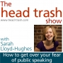 Artwork for Getting over your fear of public speaking, with Sarah Lloyd-Hughes