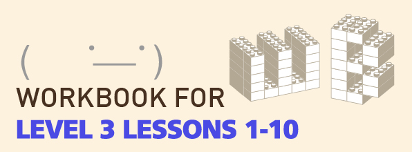 TTMIK Workbook Level 3 Lessons 1-10