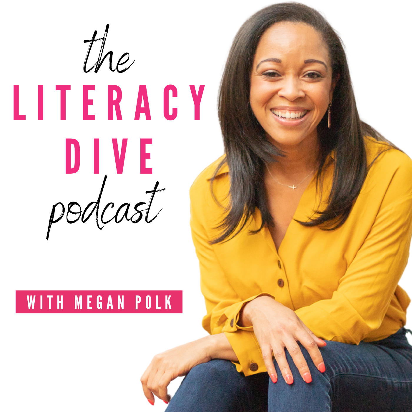 The Literacy Dive Podcast show art