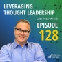Artwork for Leveraging Thought Leadership With Peter Winick – Episode 128 - Oscar Trimboli