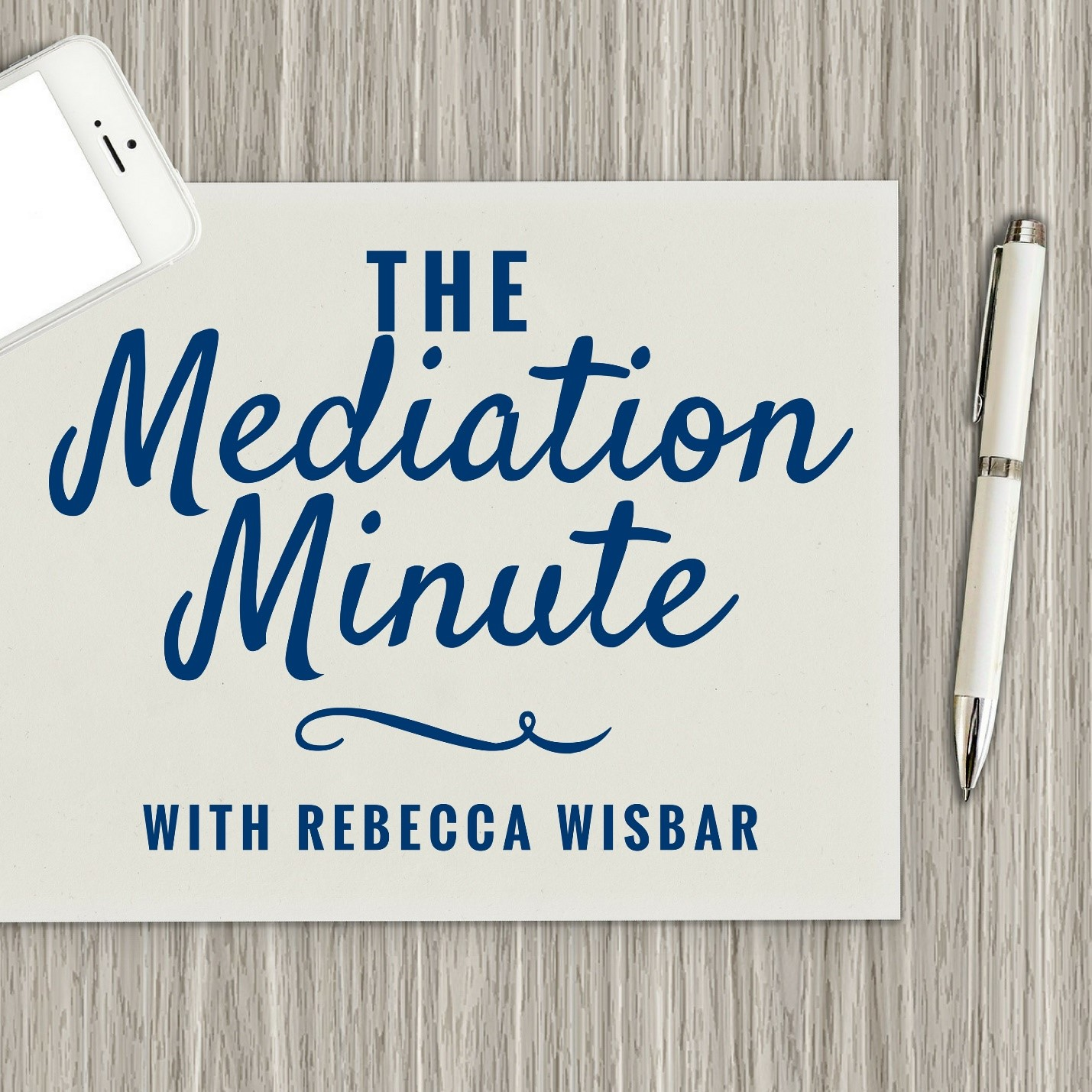 The Mediation Minute show art