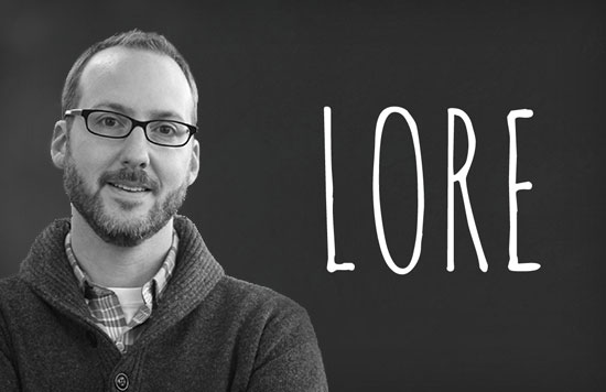 LORE Podcast Creator Aaron Mahnke