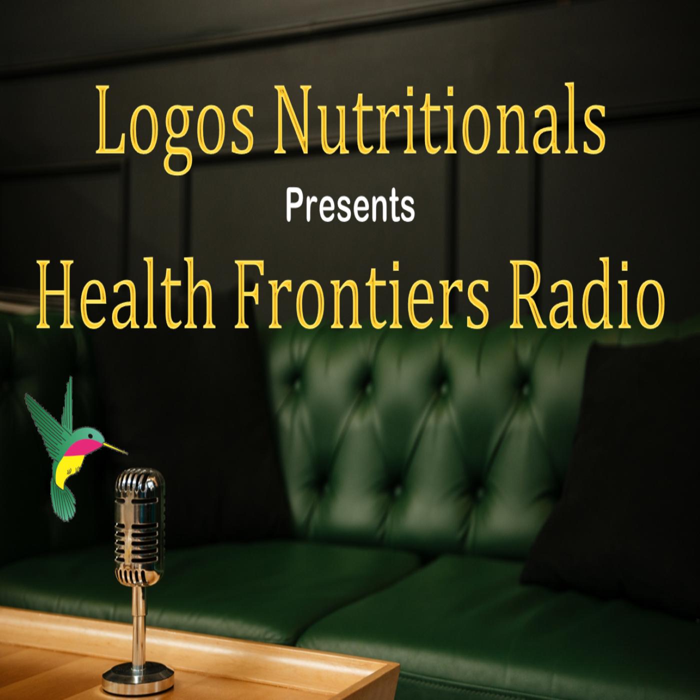 Health Frontiers Radio show art