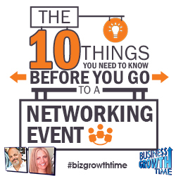 54 - The 10 things you need to know before you go to a Networking Event