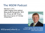 Artwork for The MSDW Podcast: Microsoft Dynamics CRM users prepare for a D365 world, both on-prem and in the cloud