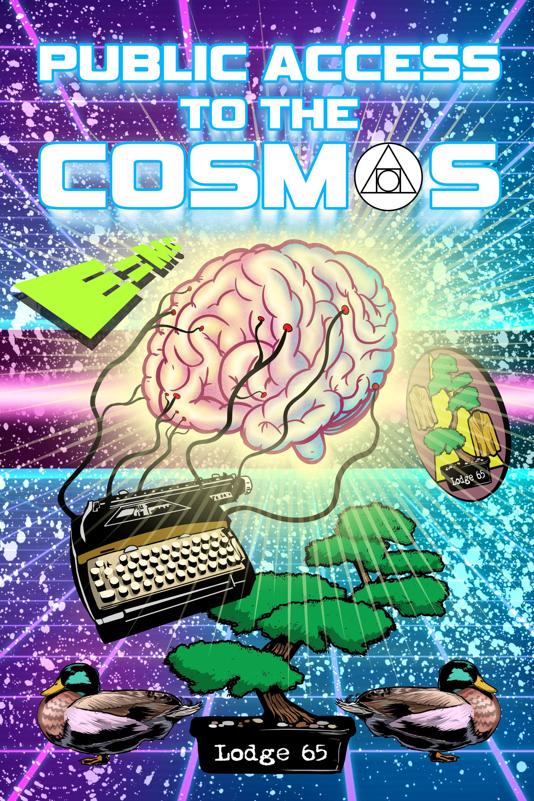Artwork for PUBLIC ACCESS TO THE COSMOS - FINAL WARNING