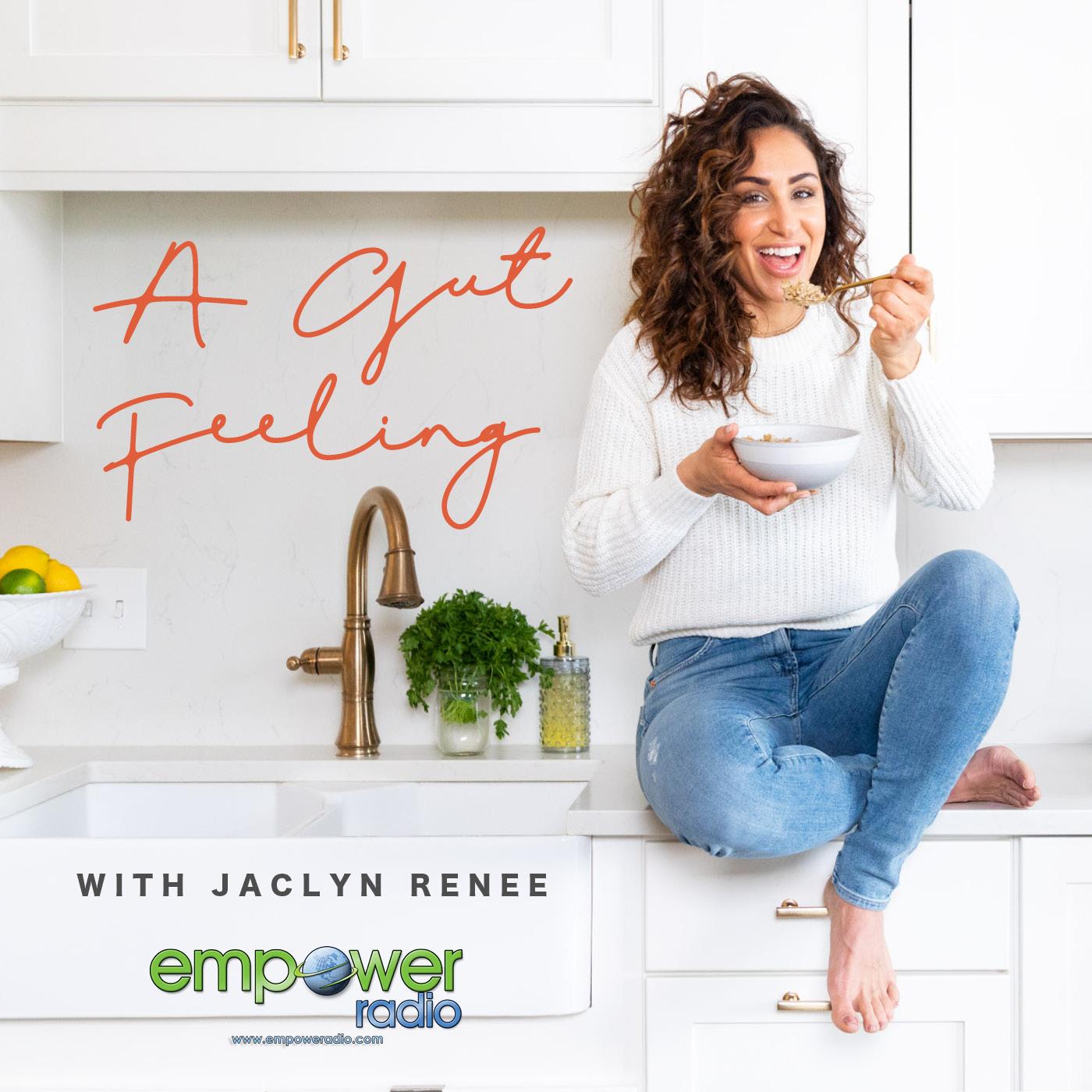 A Gut Feeling with Jaclyn Renee show art
