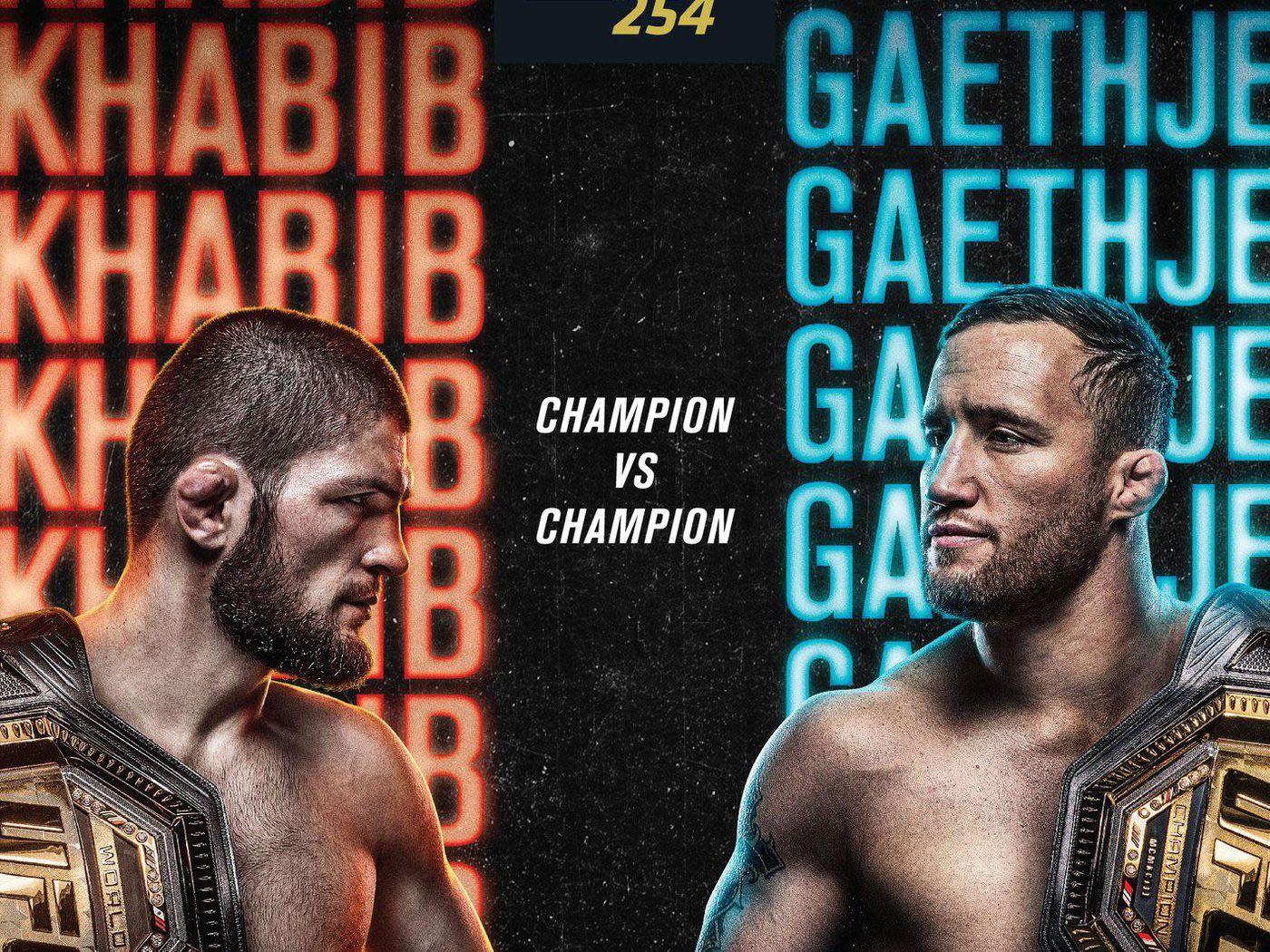 Artwork for The Best Striker in the Game vs The Best Wrestler, Who will Win UFC 254