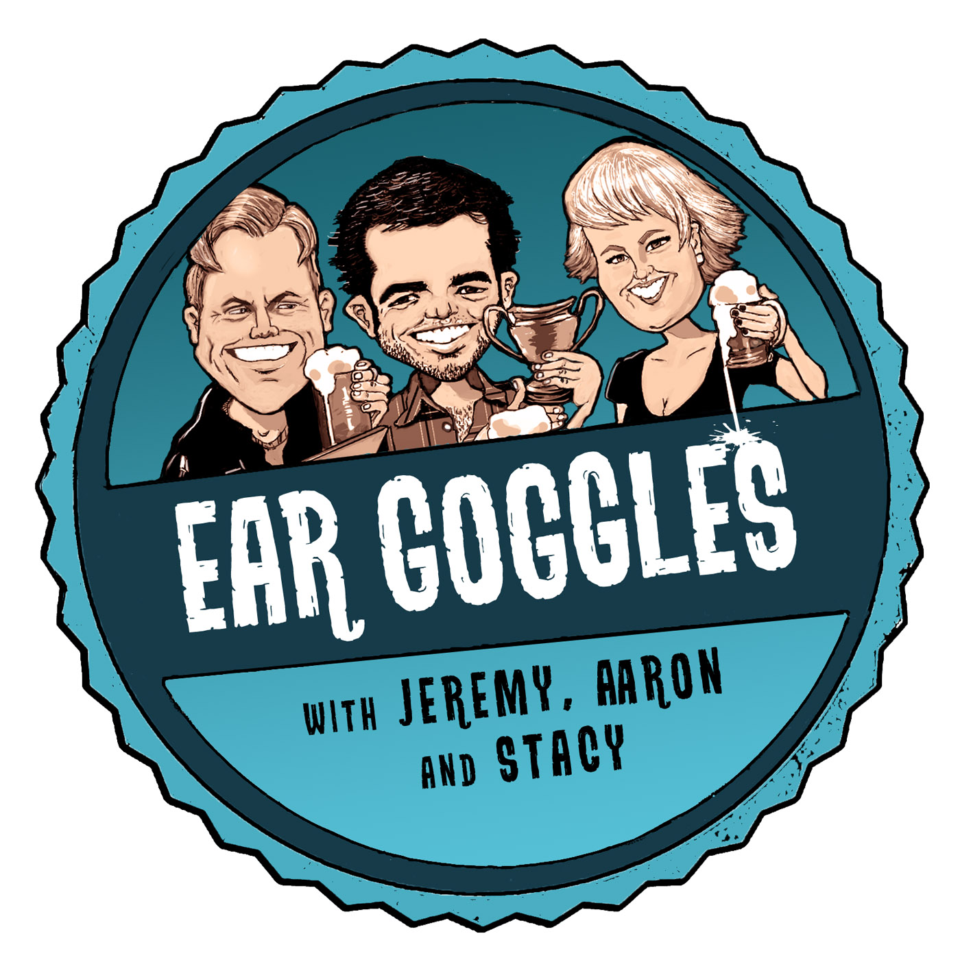 Ear Goggles with Jeremy Aaron and Stacy show art