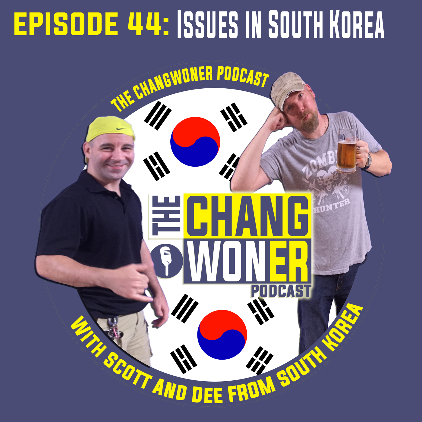 Artwork for Issues Currently Effecting South Korea. (Ep 44)