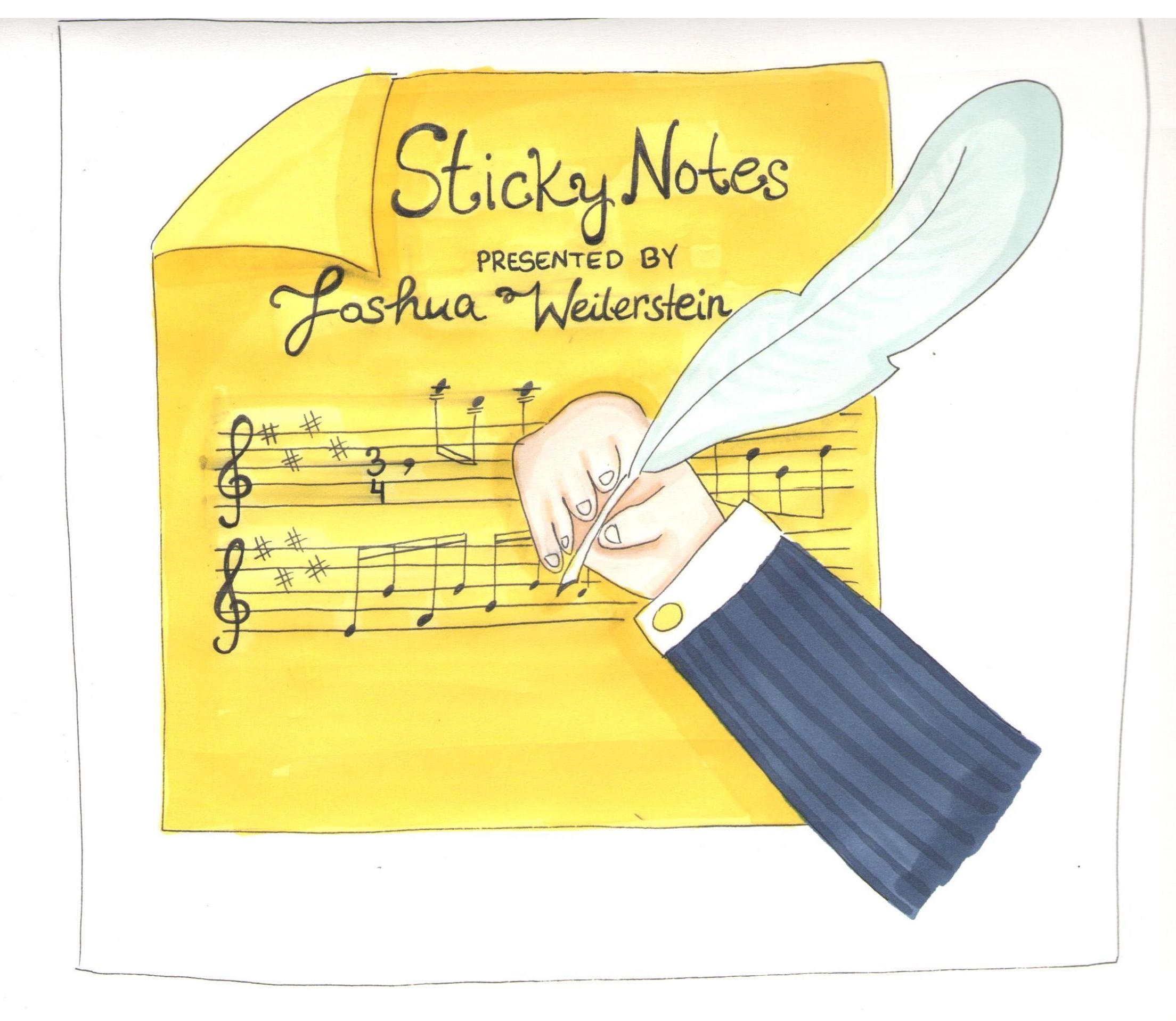 Sticky Notes: The Classical Music Podcast show art