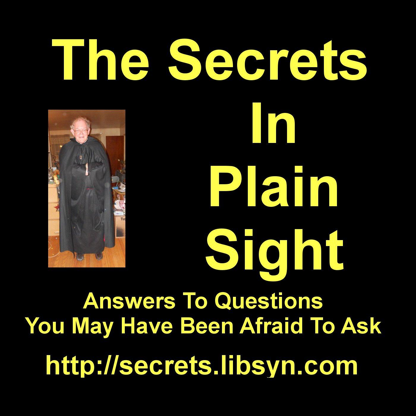 The Secrets In Plain Sight! show art
