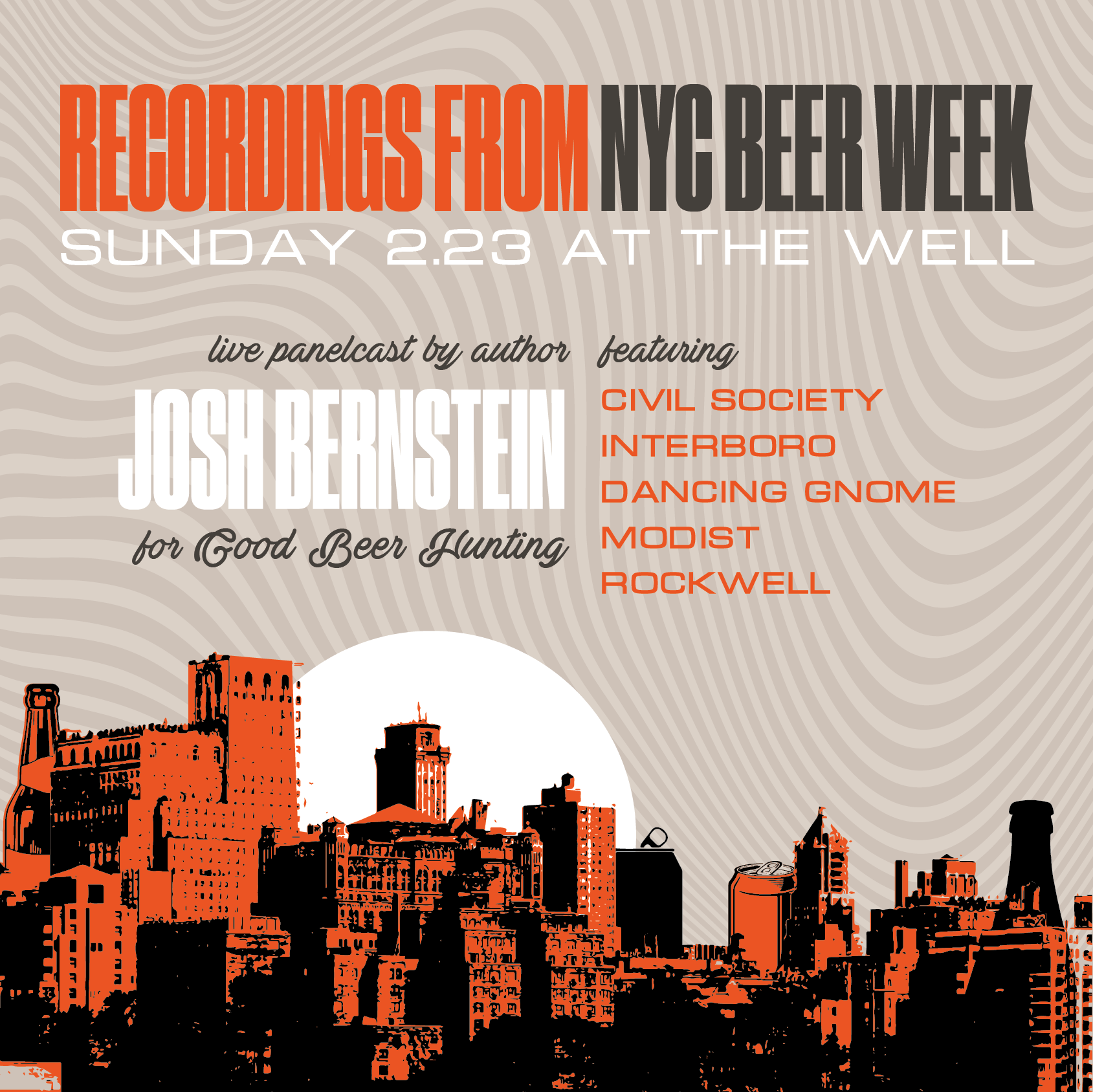 Recordings From NYC Beer Week, Session One