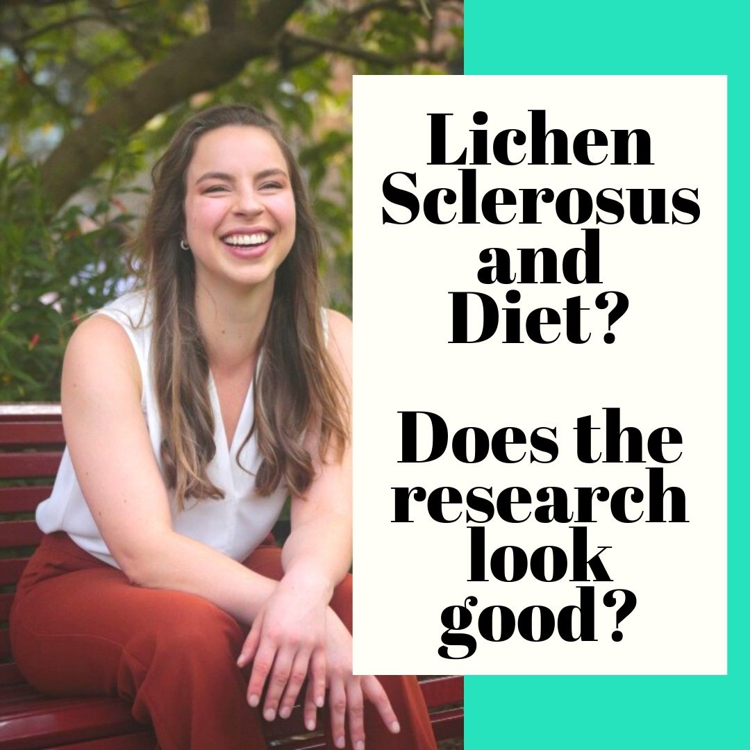 Lichen Sclerosus and Diet? Does the research look good?
