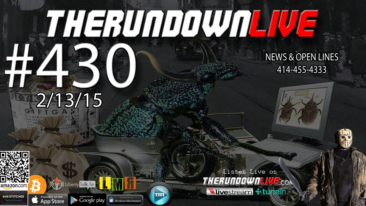 The Rundown Live #430 Open Lines (Weather,Controlled Media,911)