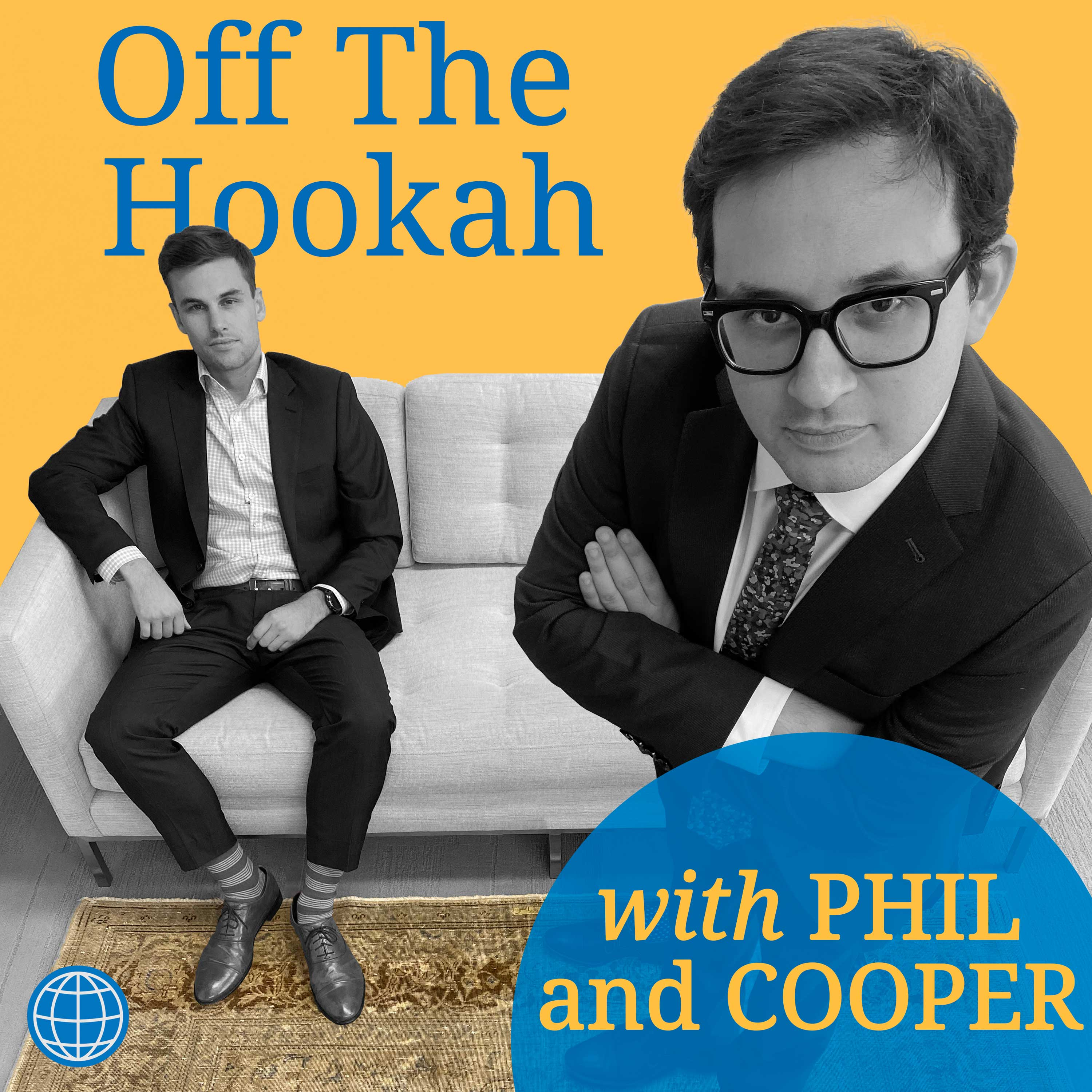 Off the Hookah with Phil and Cooper show art