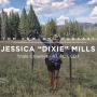 "Artwork for #0056 - Jessica ""Dixie"" Mills - Triple Crowner - AT, PCT, CDT"