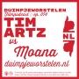 Artwork for 074 // Tim Artz vs. Moana // Duimpjeworstelen