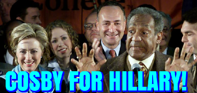 Artwork for A Vote for Clinton is the Same as a Vote for Bill Cosby.