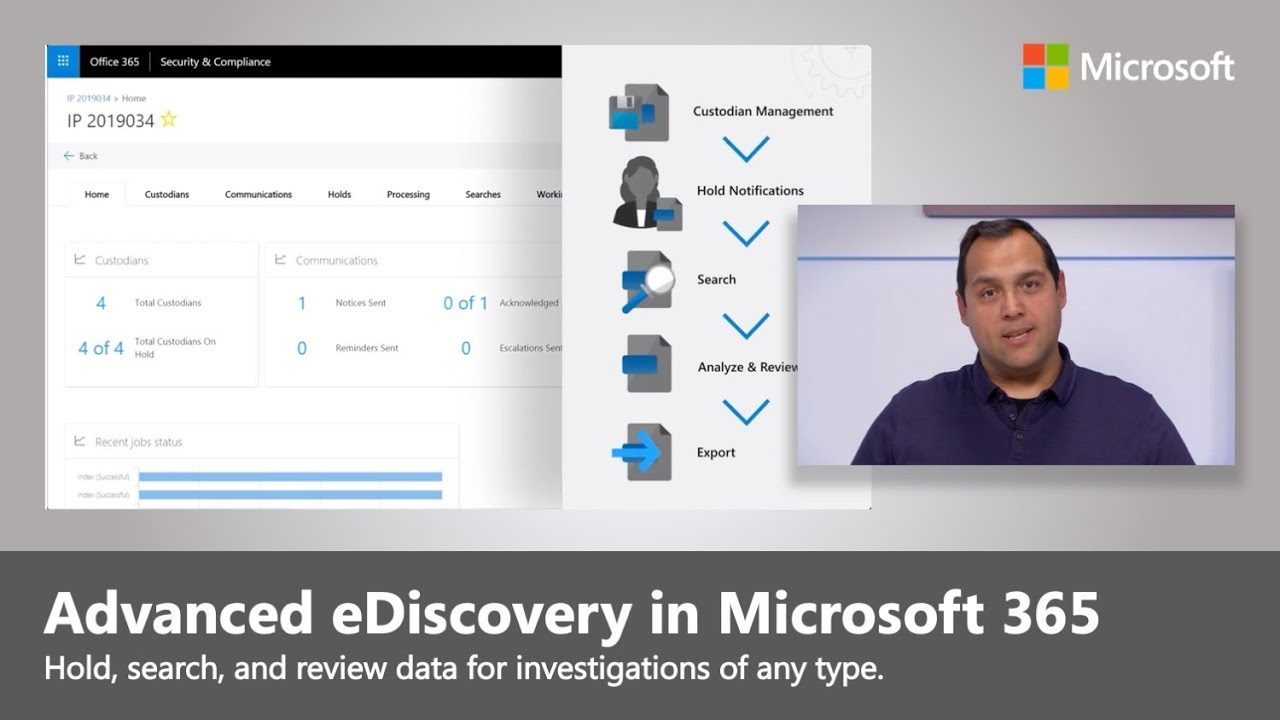 Artwork for Now do more with Advanced eDiscovery in Microsoft 365