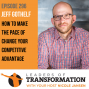 Artwork for 296: Jeff Gothelf: How To Make The Pace Of Change Your Competitive Advantage