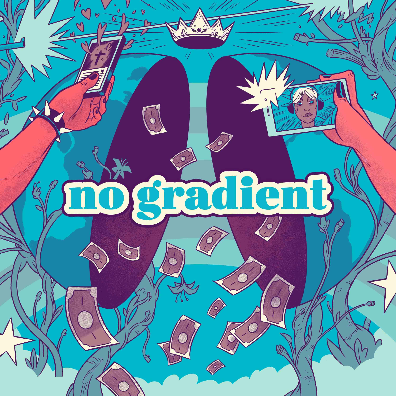 no gradient show art