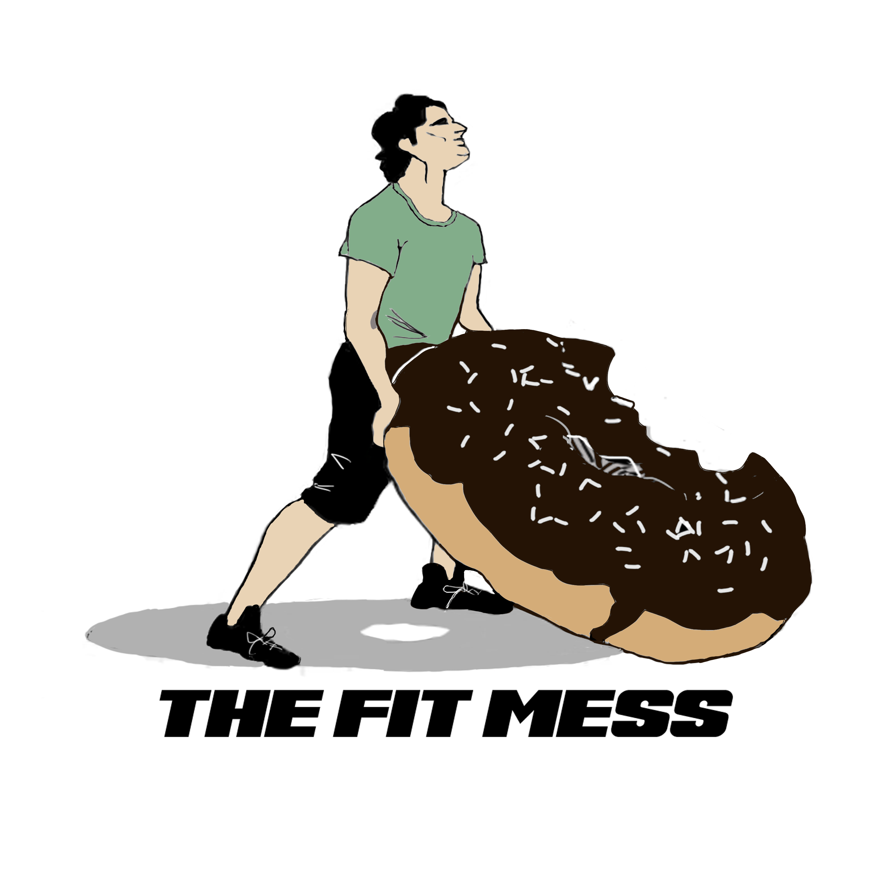 The Fit Mess Podcast show art