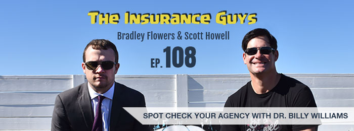 Dr. Billy Williams on the Insurance Guys Podcast