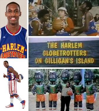 The Harlem Globetrotters on Meltdown Island