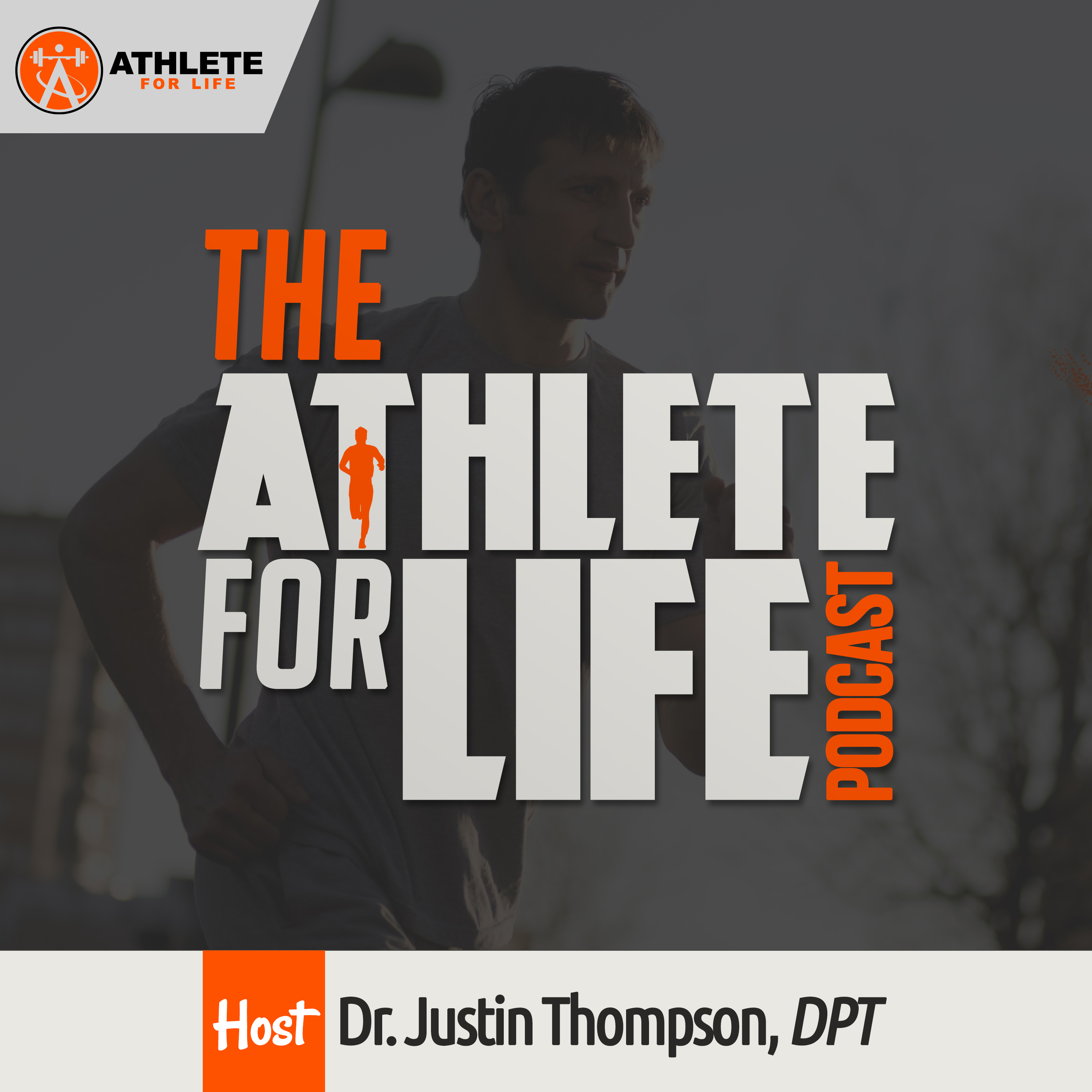 The Athlete For Life Podcast show art
