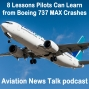 Artwork for 8 Lessons Pilots can Learn from the Boeing 737 MAX Crashes and the MCAS + GA News
